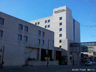 The Radisson Paper Valley Hotel in downtown Appleton. (courtesy of FOX 11).