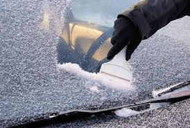 Scrape Off The Frost Before Driving!