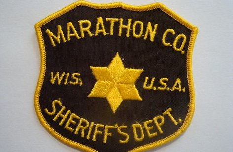 Marathon County sheriffs department patch (properly sized)
