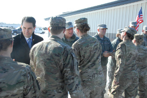 Wisconsin National Guard's 1157th returns home from Afghanistan 1/18/13