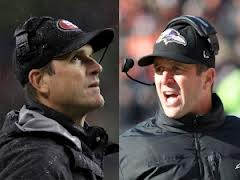Jim and John Harbaugh both win spots in the Super Bowl guiding their own teams.