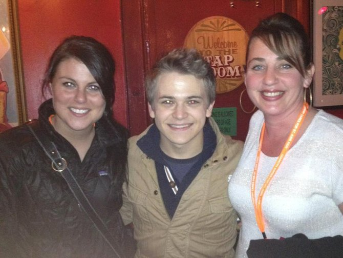 Jess, Hunter Hayes and Charli at King's Palace on Beale Street.
