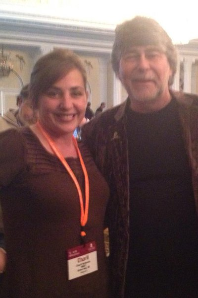 Charli with Randy Owen from Alabama. This is before the 'Meet the Patients' Seminar.