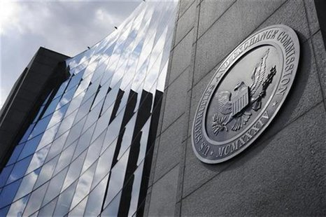 A general exterior view of the U.S. Securities and Exchange Commission (SEC) headquarters in Washington, June 24, 2011. REUTERS/Jonathan Ern