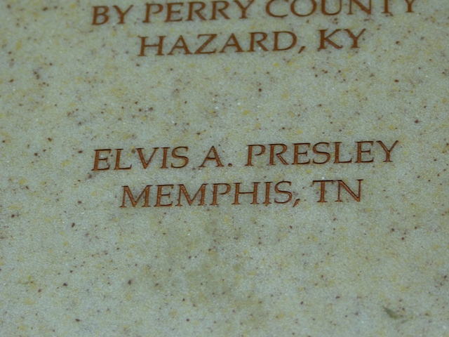 Elvis Presley is one of the many donors to this wonderful Hospital.
