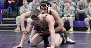 UW Stevens Point wrestling.  Photo from UWSP Athletics Department