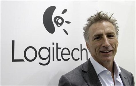 Logitech president Bracken Darrell poses before a Reuters interview during the opening day of the IFA consumer electronics fair in Berlin, A
