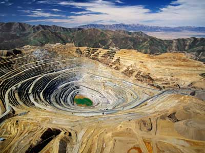 Mining open pit