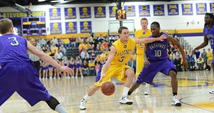 UW Stevens Point Men's Basketball, photo courtesy of UWSP Athletics Department
