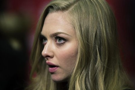 "Cast member Amanda Seyfried arrives for the premiere of the film ""Lovelace"" during the Sundance Film Festival in Park City, Utah, January 22"