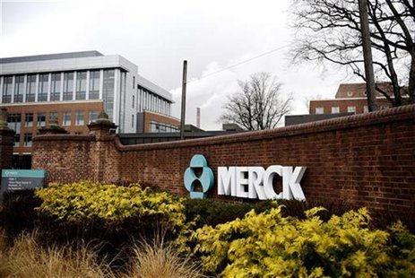 A view of the Merck & Co. campus in Linden, New Jersey March 9, 2009, after Merck & Co Inc said it would acquire Schering-Plough Corp in $41
