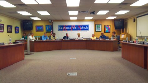 The Kalamazoo School Board heard the proposal but will wait several weeks to take public input before making a final decision on the bond issue recommendation.