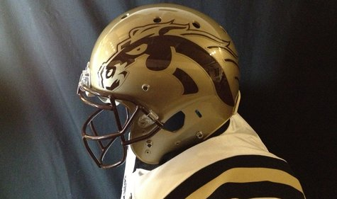 WMU new 2013 helmets.