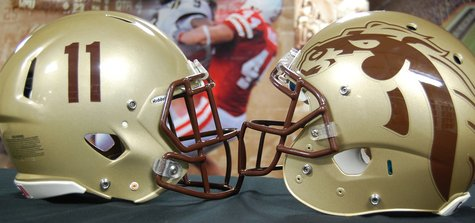 2013 WMU new helmets