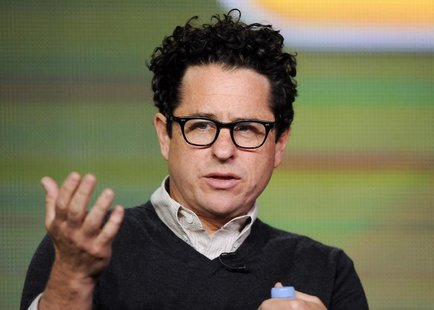 "Executive producer J.J. Abrams takes part in a panel discussion of NBC Universal's series ""Revolution"" during the 2013 Winter Press Tour for"