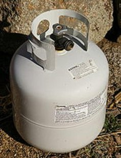 Propane is the same gas many of us use in campers and barbecues.  In rural parts of the state its sometimes used to heat homes.