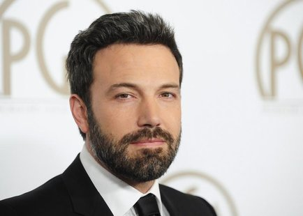"Actor, director and producer of ""Argo"" Ben Affleck arrives at the Producers Guild of America Awards in Beverly Hills, California January 26,"