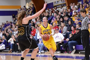 UW Stevens Point Women's Basketball.  Photo courtesy UWSP Athletics Dept.