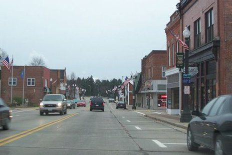 Mosinee, WI downtown