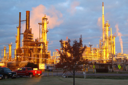 Calumet Refinery in Superior
