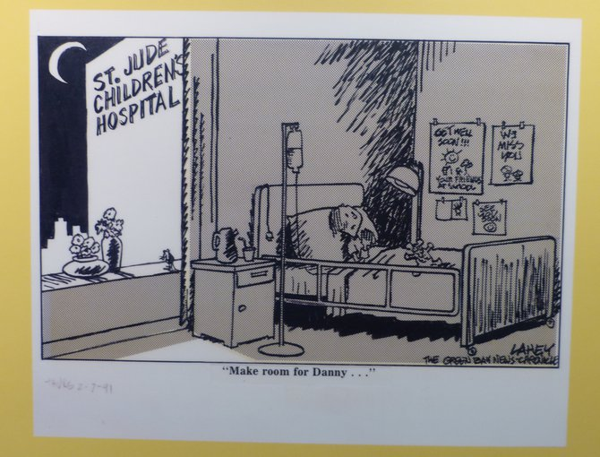 Cartoon from the now defunct Green Bay News Chronicle