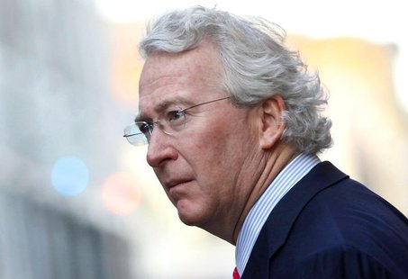 Chief Executive Officer, Chairman, and Co-founder of Chesapeake Energy Corporation Aubrey McClendon walks through the French Quarter in New