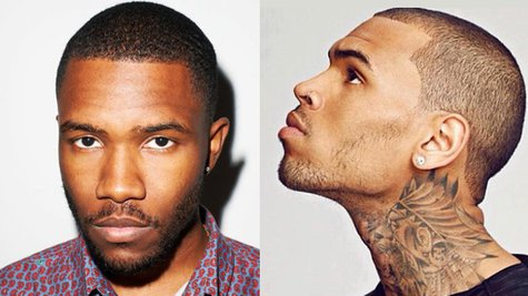 Image courtesy of Facebook.com/TheFrankOcean; Facebook.com/ChrisBrown (via ABC News Radio)
