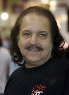 Adult film star Ron Jeremy makes an appearance during the AVN (Adult Video News) Adult Entertainment Expo in Las Vegas, Nevada January 10, 2
