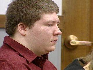 Brendan Dassey in court (courtesy of FOX 11).