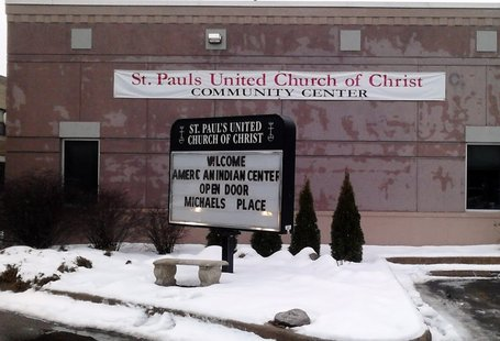 The Saint Paul's United Church of Christ Community Center on 4th Street in Wausau