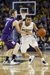 Michigan point guard Trey Burke
