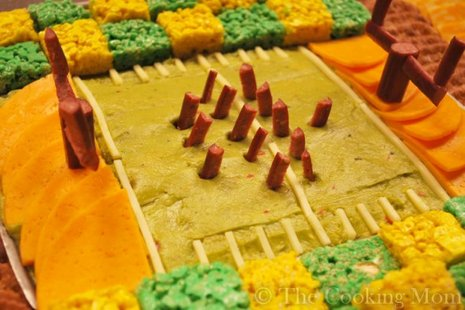 Stadium Snack Platter (courtesy of thecookingmom.com)