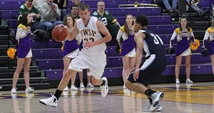 UW Stevens Point Men's Basketball vs Platteville.  Photo courtesy UWSP Athletics Dept.