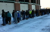 Fans Froze in Line for Donald Driver Retirement Ceremony Tickets 9