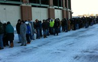 Photo Coverage :: The Line for Donald Driver Retirement Ceremony Tickets 9