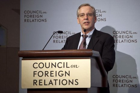 William C. Dudley, president and chief executive officer of the Federal Reserve Bank of New York, speaks at the Council on Foreign Relations