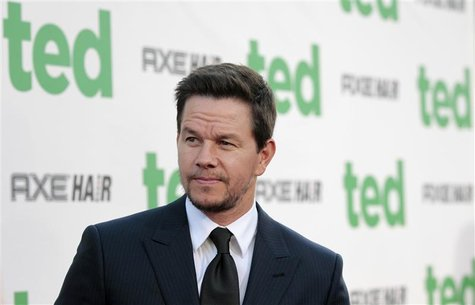 "Cast member Mark Wahlberg poses at the premiere of ""Ted"" at the Grauman's Chinese theatre in Hollywood, California June 21, 2012. The movie"