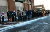 Photo Coverage :: The Line for Donald Driver Retirement Ceremony Tickets 2