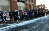 Fans Froze in Line for Donald Driver Retirement Ceremony Tickets 6