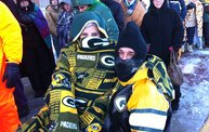 Standing in line in sub-zero temperatures