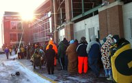 Photo Coverage :: The Line for Donald Driver Retirement Ceremony Tickets: Cover Image