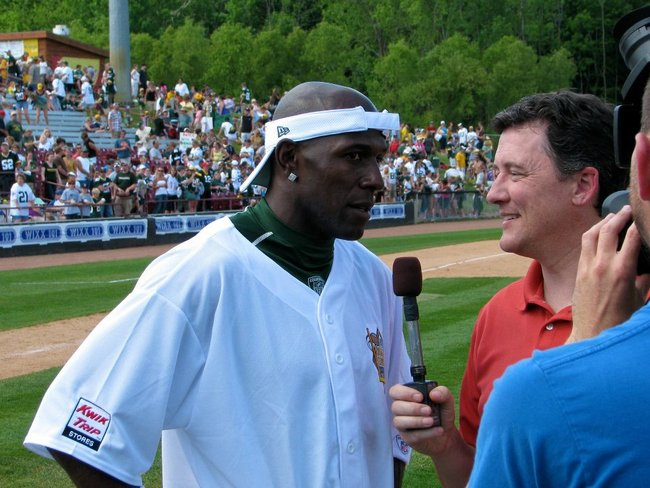 Donald Driver Charity Softball Game with WIXX