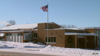 Tullar Elementary School in Neenah is seen, Feb. 1, 2013. (courtesy of FOX 11).