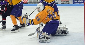 University of Wisconsin Stevens Point Hockey vs. UW-Superior.  Photo courtesy UWSP Athletic Department.