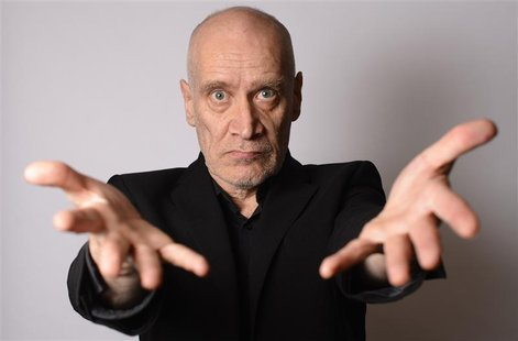 Musician Wilko Johnson poses for a photograph at his home in Westcliff - on- sea, Essex, southern England February 1, 2013. Johnson, cult gu
