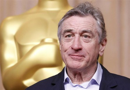 "Actor Robert De Niro, nominated for best supporting actor for his role in ""Silver Linings Playbook"", attends the 85th Academy Awards nominee"