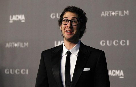 Singer Josh Groban poses at the Los Angeles County Museum of Art (LACMA) 2012 Art + Film Gala in Los Angeles, California October 27, 2012. R