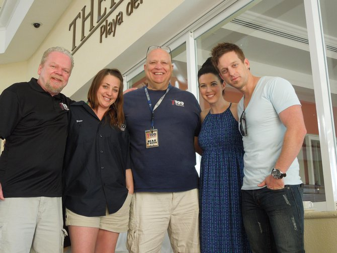 Thompson Square with Dan, Charli, and Bear in Mexico