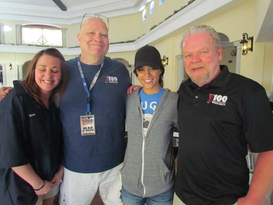 Jana Kramer with Charli, Bear, and Dan Stone
