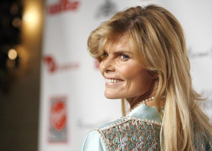"Mariel Hemingway poses at the Virgin Unite's ""Rock The Kasbah"" benefit reception in Hollywood, California July 2, 2007. REUTERS/Mario Anzuon"